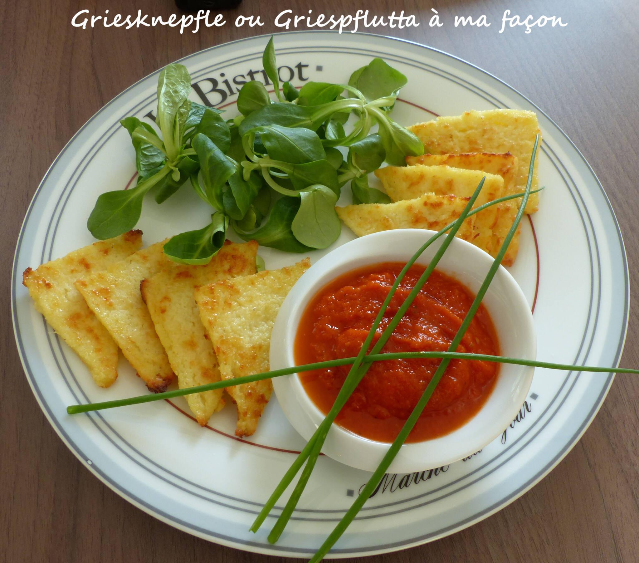 Griesknepfle ou Griespflutta à ma façon P1230834 R