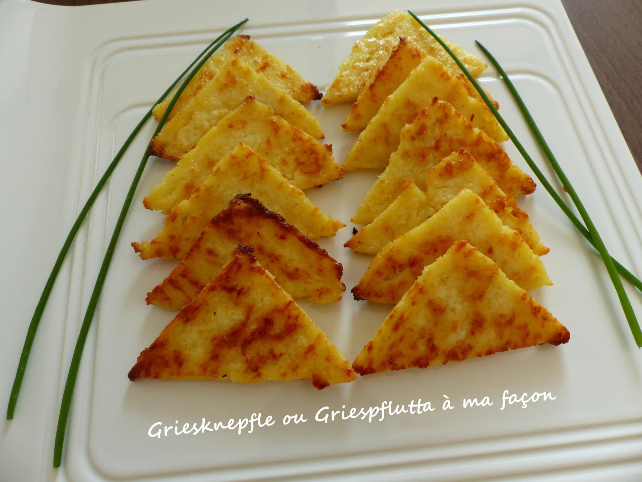 Griesknepfle ou Griespflutta à ma façon P1230836 R