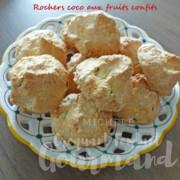 Rochers coco aux fruits confits P1240290 R