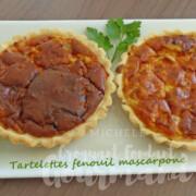 Tartelettes fenouil mascarpone P1240371 R