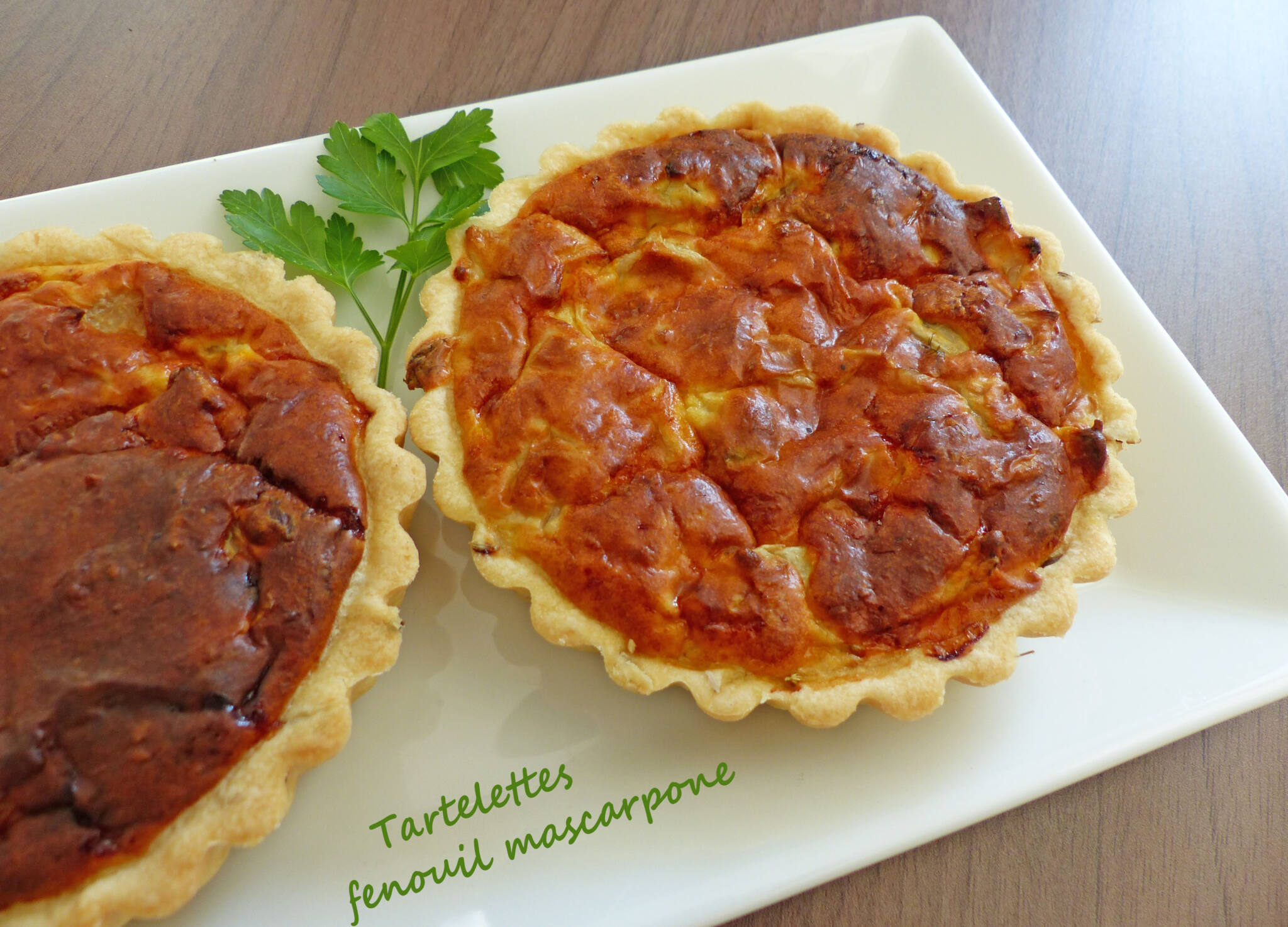 Tartelettes fenouil mascarponeP1240372 R