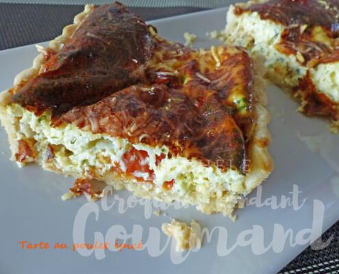 Tarte au poulet épicé P1240555 R