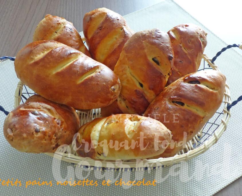 Petits pains noisettes et chocolat P1250241 R